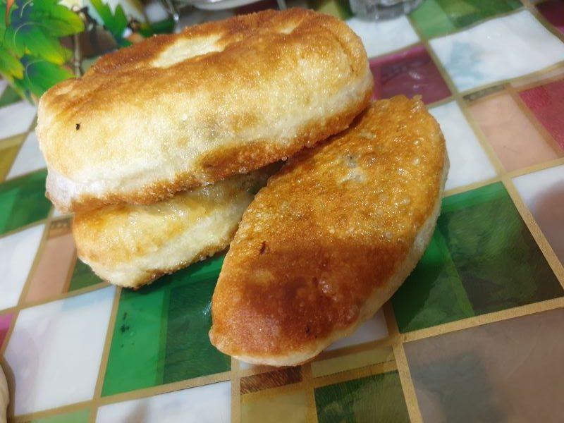 жареные пирожки с капустой калорийность