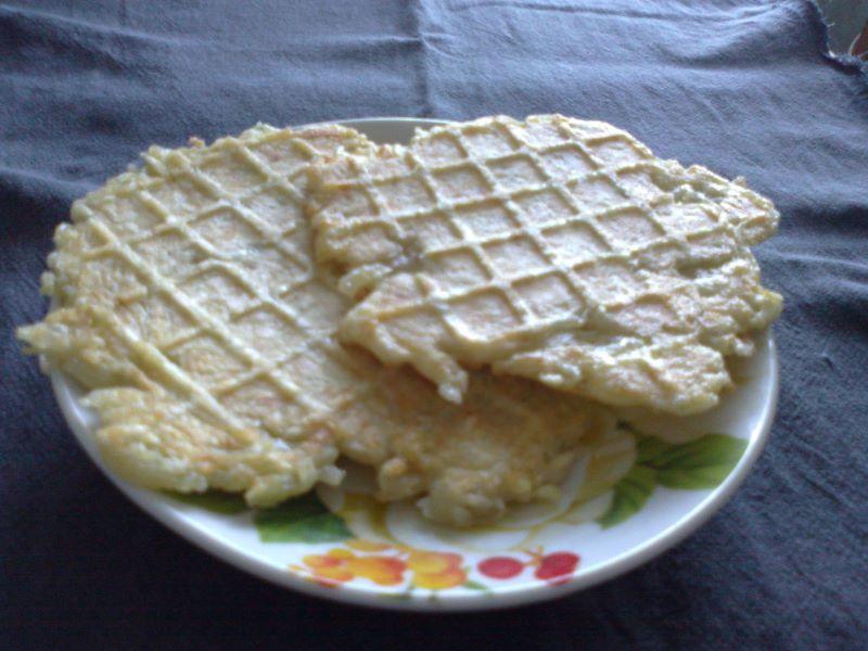 овощные вафли в вафельнице рецепт классический из детства