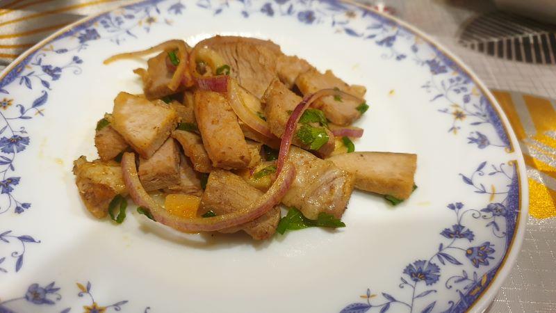 простой острый салат