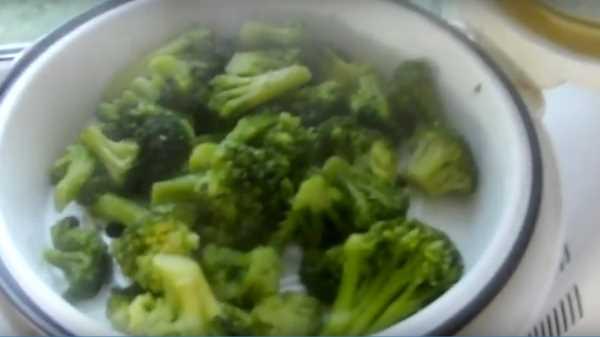 как правильно приготовить капусту брокколи свежую