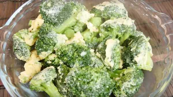 вкусный омлет с брокколи