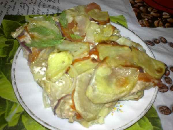 картофельная запеканка с мясом в духовке рецепты