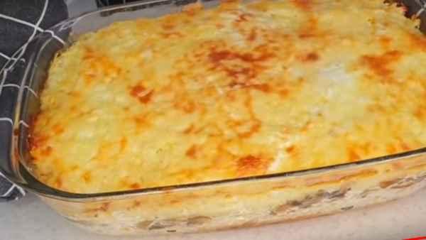 готовим праздничную запеканку из картофеля в духовке,